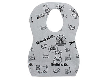 Baby Feeding Bib With Crumb Cather