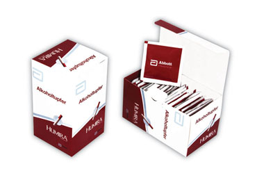 Pre-Injection Swabs Box 25's